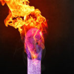 Image of a flaming match